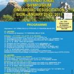 Congrès de Sion sur l'arrêt cardiaque : intervention sur l'intérêt de la simulation dans la formation.